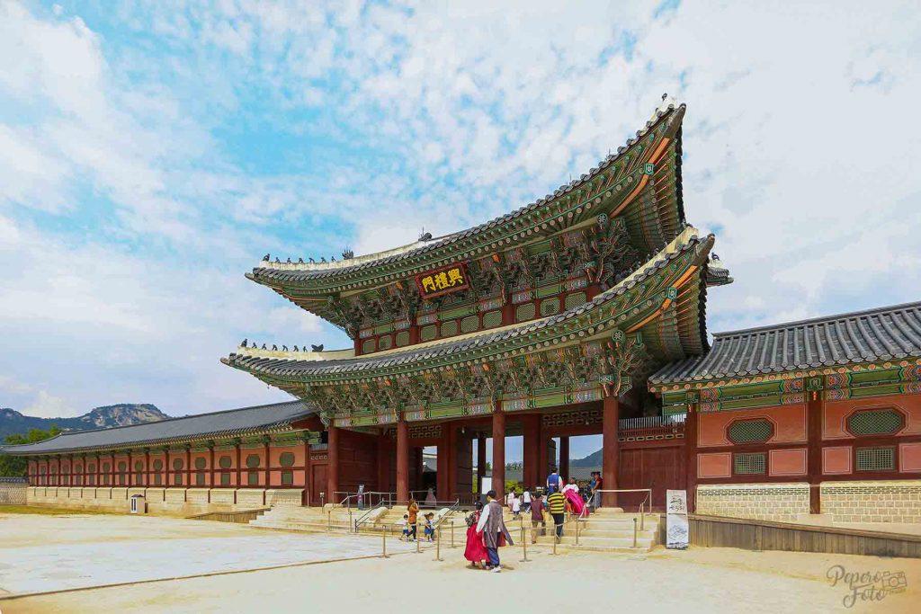 Gyeongbok Palace Kung